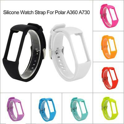Silicone Rubber Watch Band Wrist Strap Replacement For Polar A360 A730 Watch New