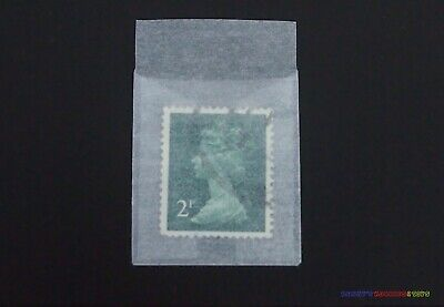 50 New Glassine Envelopes 30mm x 35mm For Definitive Stamp Collection Philately