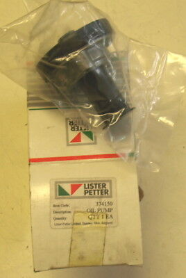 Lister Petter  AC Anti clockwise rotation. New genuine Lister Oil Pump  376570