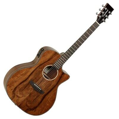Tanglewood TVC X PW Exotic Walnut Electro Acoustic Guitar - Ex Display