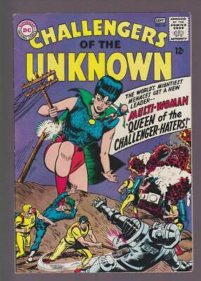 Challengers of the Unknown # 45  The Challenger-Haters ! grade 7.0 scarce book !