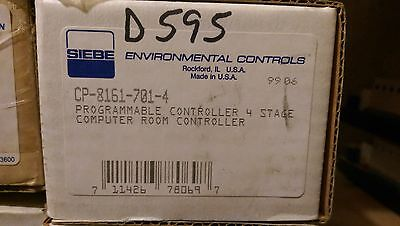#127 - BARBER COLMAN SIEBE INVENSYS CP8161-701-4 CONTROLLER New Old Stock