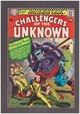 Challengers of the Unknown # 49  The Tyrant Owns !  grade 9.0 scarce book !