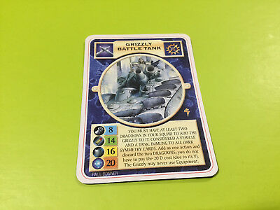 Doomtrooper Inq: Grizzly Battle Tank *English* Mutant Chronicles CCG