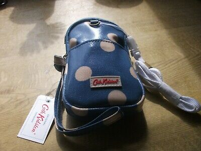 New with tags cath kidston dog poo bag holder button spot and 25 poo bags