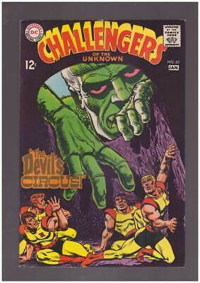 Challengers of the Unknown # 65  The Devil's Circus !  grade 8.5 scarce book !