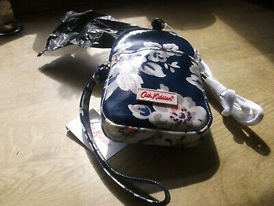 New with tags cath kidston dog poo bag holder elvington rose  and 25 poo bag