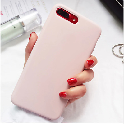 Original Silicone/Leather Case For iPhone Xr XS Max 6 7 8 Plus Genuine OEM Cover