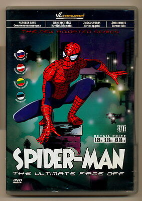 Spiderman : The Ultimate Face Off 2008 DVD English Russian Latvian Estonian