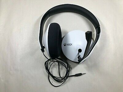 FAULTY MIC - Microsoft Xbox One Official Wired Stereo Headset - White for parts