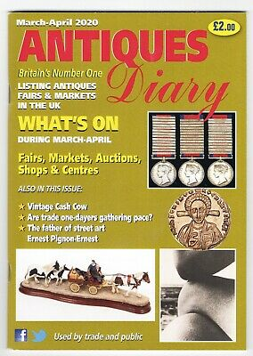 Antiques Diary UK July August 2019 fairs shows auctions centres event list dates