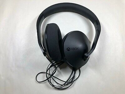 Microsoft Xbox One Official Wired Stereo Headset - Black for parts