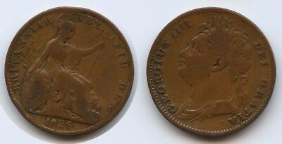 G2196 Großbritannien One Farthing 1826 KM#677 George IV.1820-1830 Great Britain