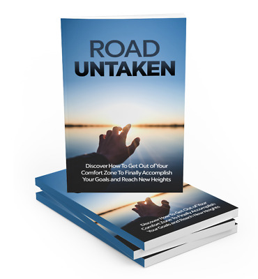 Road Untaken eBook PDF with Full Master Resell Rights