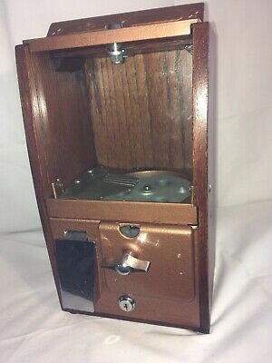 1950's Victor Baby Grand Gumball Vending Machine 5 Cent