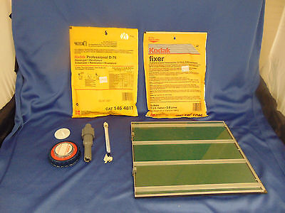 Kodak Developer D-76 Fixer CAT 197 1736 packets Mioplex multiple strip printer
