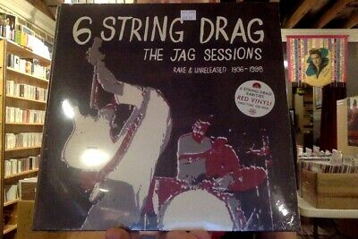 6 String Drag The Jag Sessions LP red colored vinyl RSD 2019 Six