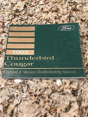 1965 ford thunderbird wiring diagram manual 12 95 picclick 1993 ford thunderbird electrical wiring vacuum diagram manual 3 8l 5 0l oem