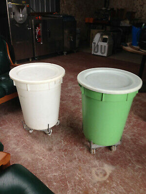 Bakery/Flour/Storage bins with Castor Wheels
