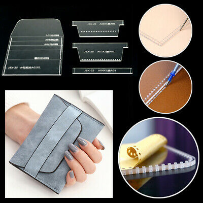 Craft Template Tool Stencil Coin Purse Pattern Tool Set Wallet Mini Accessories