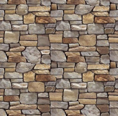 #  6 SHEETS EMBOSSED BUMPY BRICK stone wall 21x29cm SCALE  1//12 CODE  yy4d355g