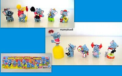 Kinder  1998 Germania - Set Completo Funny Fanten In Der Manege + 1 Cartina
