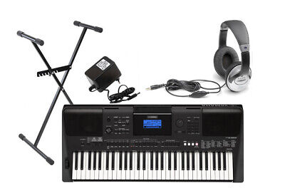 YAMAHA PSR-E463 Portatone Keyboard Bundle 1