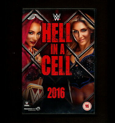 WWE: Hell in a Cell 2016 (DVD, 2016) UK 3 hell in a cell (REGION 2 not for USA)