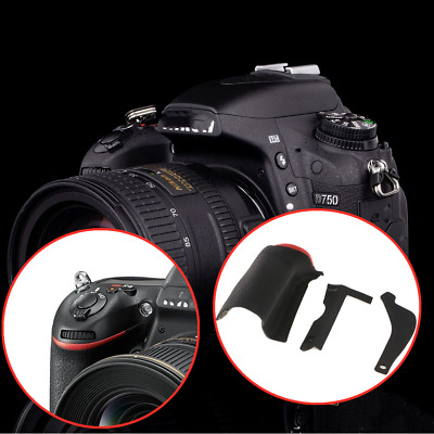 For Nikon D750 DSLR Camera Parts Thumb Rubber Grip Cover Body Front Side Cover