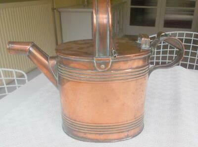 Antique Solid Copper Watering Can No. 4