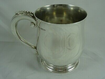 QUALITY, solid silver PINT TANKARD, 1948, 440gm