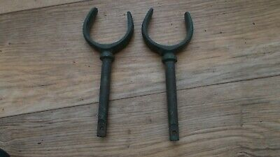 Vintage Solid Bronze Rowlocks ,classic Boating