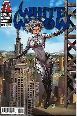 White Widow # 1 Mike Krome Empire Variant Foil Cover Edition  Vf/Nm