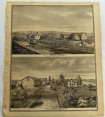 1876 NY Barrington Farms Residences  Print frm Atlas