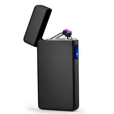 USB Electric Double Arc Lighter Rechargeable Windproof Torch Lighter Dual