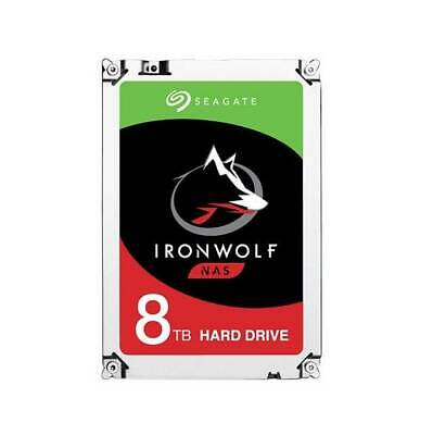 "Seagate IronWolf NAS ST8000VN0022 8TB SATA6.0Gb/s 256MB 3.5"" Internal Hard DRIVE"