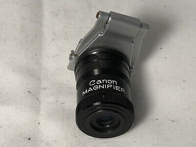 Canon FD EF Eyepiece magnifier - Lovely Clean Condition