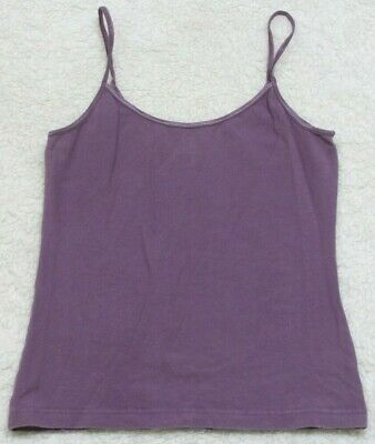 d9fa7cec49ae2a Tank Top Tee T-Shirt Sleeveless BP. Purple Womans Crewneck Large Spaghetti  Strap