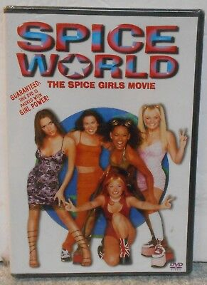 Spice World (DVD 1998 Closed Caption) RARE MUSIC COMEDY BRAND NEW
