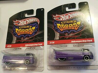 HOT WHEELS PHIL/'S GARAGE #37//39 VOLKSWAGEN DRAG TRUCK PURPLE