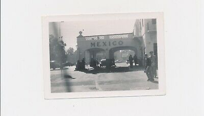 1940 Border Crossing to Mexico Top News Now Back Then Immigration & Travel Easy