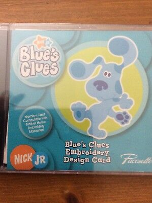 Blues Clues Brother Embroidery Memory Card