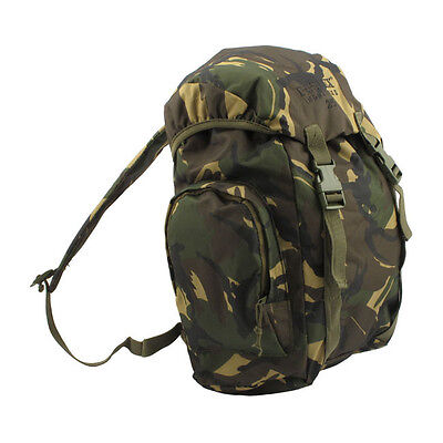 FOSTEX Back Pack Motorrad Rucksack 25L, Army Cameo Baumwolle