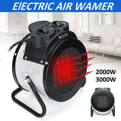 3KW MECO Electric Industrial Workshop Space Heater Fan Garage Home Shed Factory