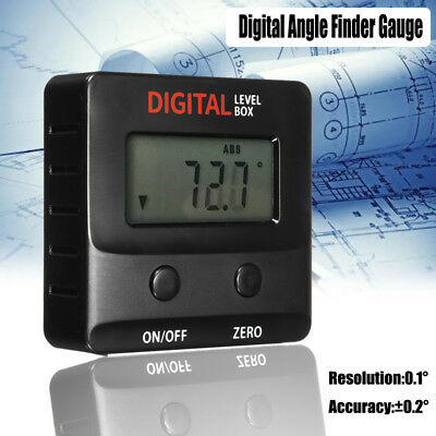 NEW 360° Mini LCD Digital Inclinometer Protractor Angle Finder Bevel Level Box