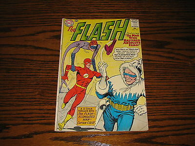 DC Comics - THE FLASH #134 - Elongated Man/Captain Cold!! Glossy VG+  1963