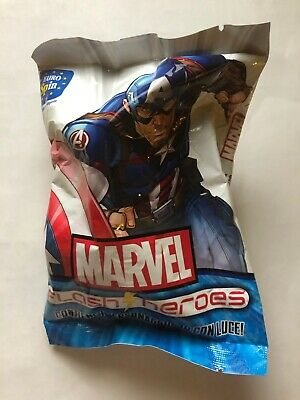 CAPTAIN AMERICA - Marvel Flash Heroes Eurospin NUOVO Action Figure NEW