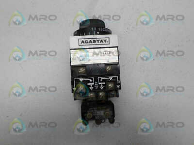 Agastat 7012Abll Timing Relay 0.5-5 Sec. *Used*