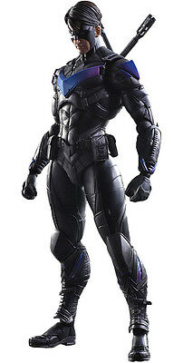 "BATMAN: Arkham Knight - 10"" Nightwing Play Arts Kai Action Figure (Square Enix)"