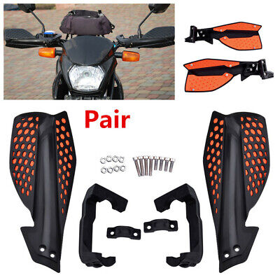 Universal Pair Motorcycle ATV 22mm Handlebar Hand Guards Protector Protection